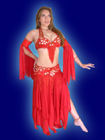 Picture of Oriental dancer Salome Click picture to enlarge