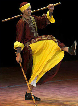 Interview with Egyptian dancer Mohamed Shahin